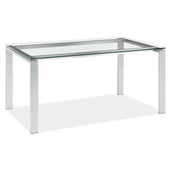Mesas de cristal a medida